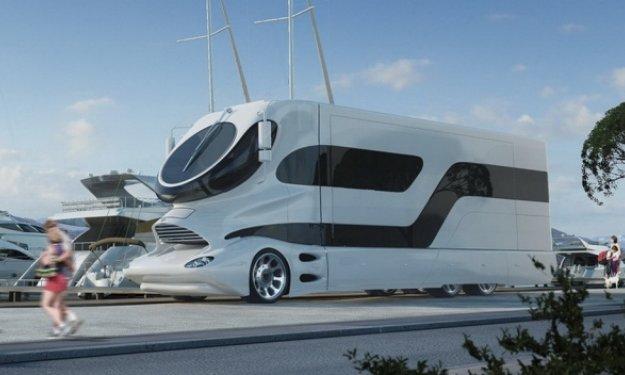 The Design Of This Luxury Caravan Is Spectacular Price Motorhome