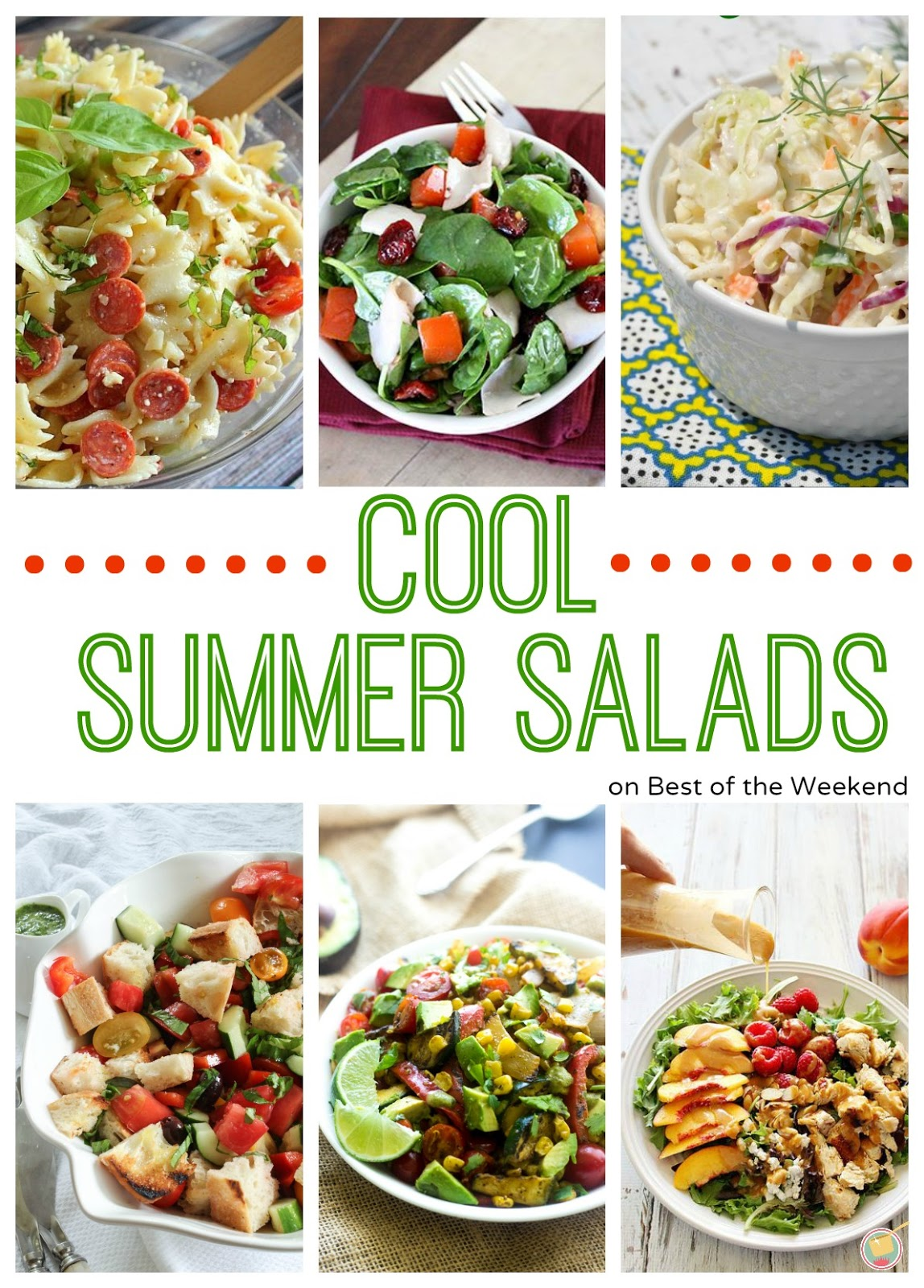Best of the weekend and cool summer salads cooking on for Best summer pasta salad recipes ever