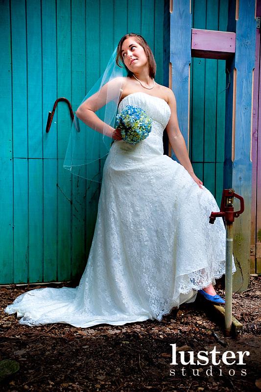 Heart Beating For Blue Wedding Dresses