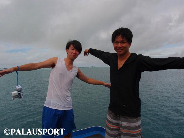 パラオ ダイビング 体験談 2ショット 男友達