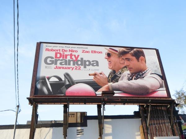 Dirty Grandpa movie billboard