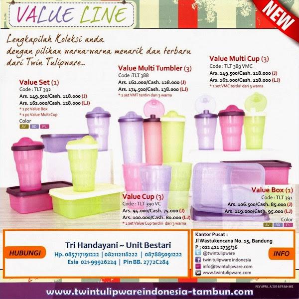 "New ""Value Line"" | Value Box, Value Set, Value Cup, Value Multi Cup, Value Multi Tumbler"