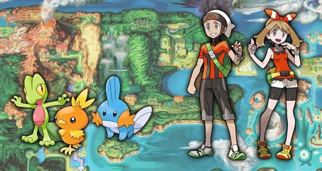pokemon rubi zafiro diseño