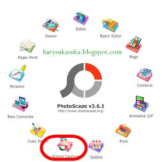 Cara Membuat Screenshot Gambar Dengan Photoscape