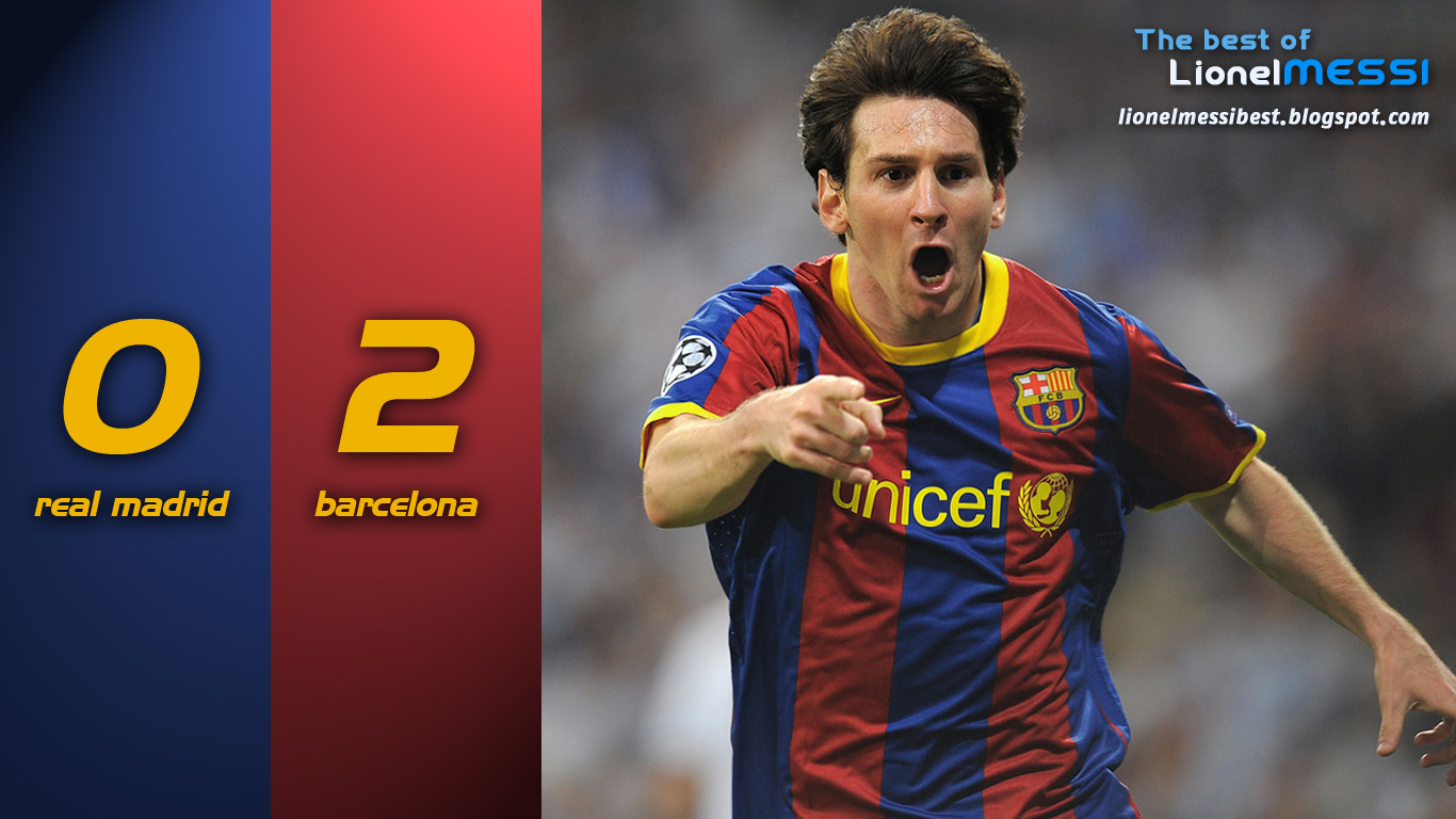 Wallpaper  Real Madrid 0   Barcelona 2
