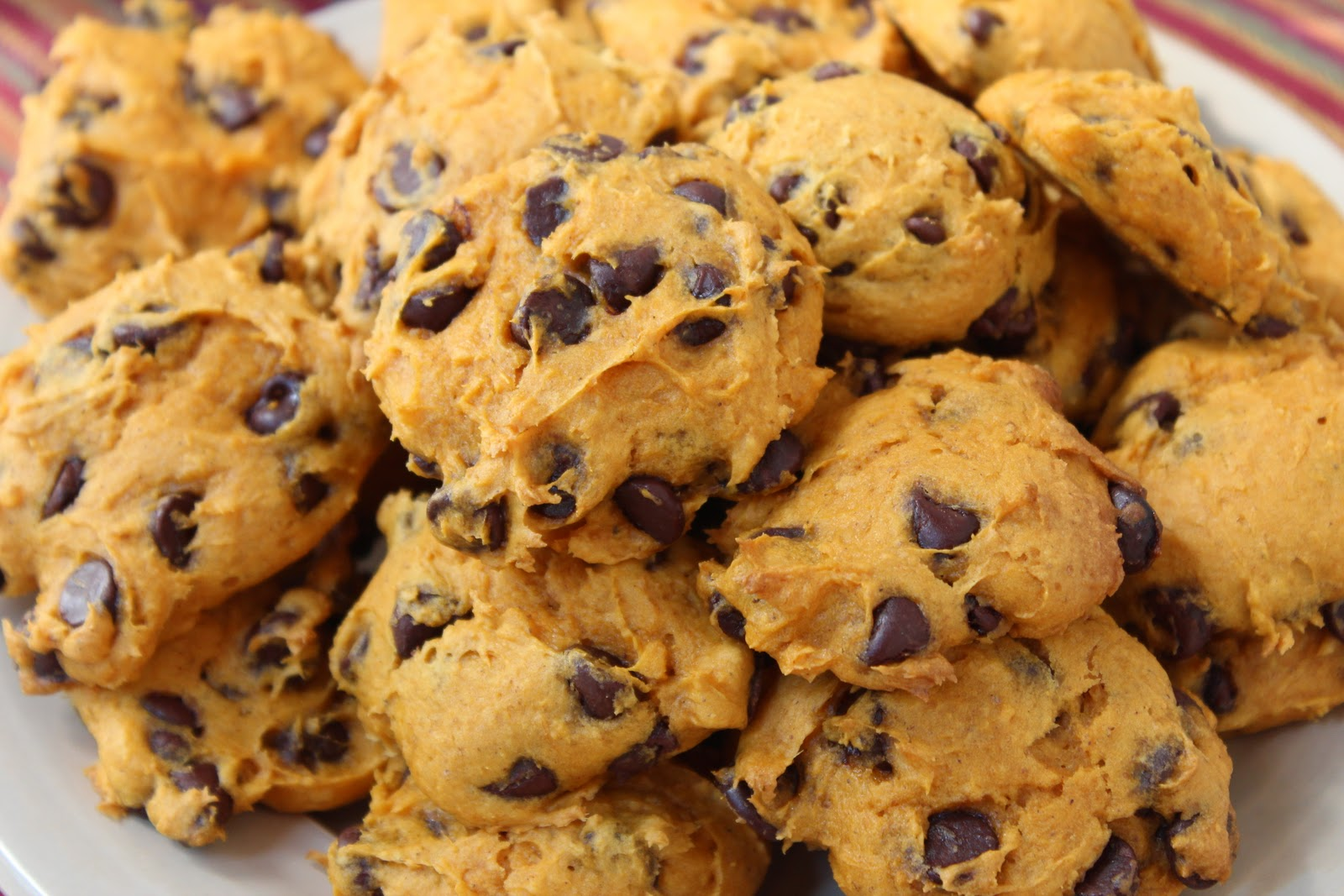 Pumpkin Chocolate Chip Cookies From Cake Mix
