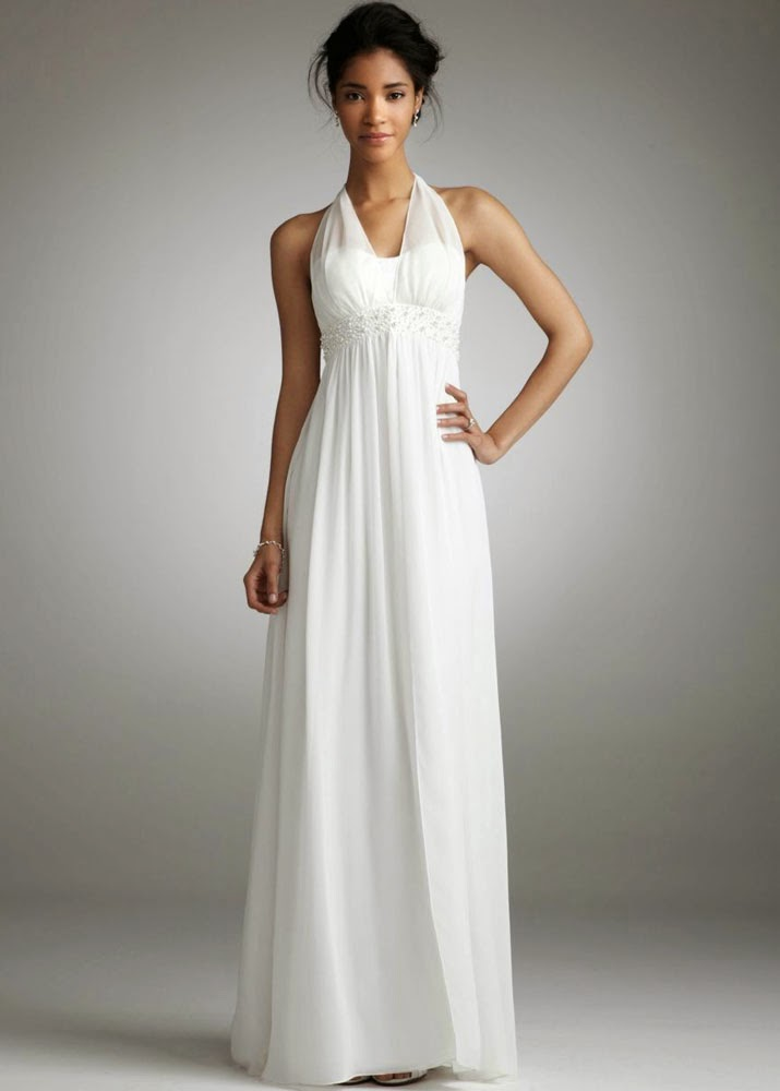 Informal White Wedding Dresses Beach Style Design pictures hd