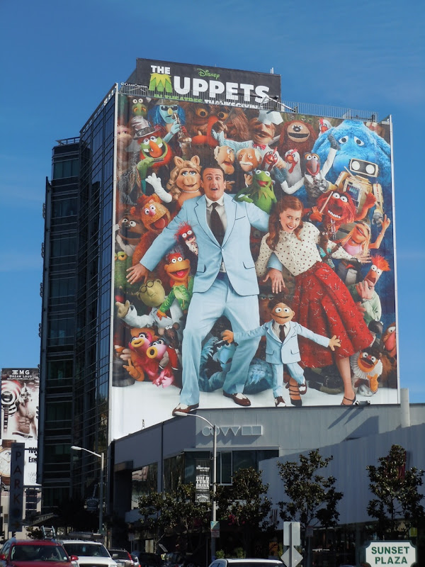 The Muppets billboard Sunset Strip