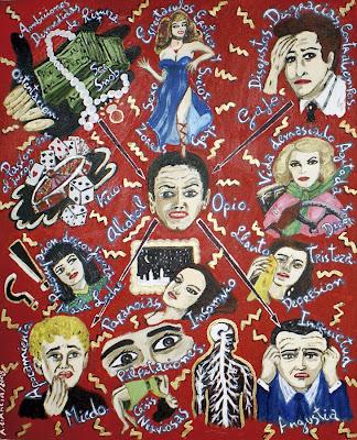 Dr.Vander, Glory Hole, Agustí Garcia, Bad Painting, Pinturas, Agustí Garcia Monfort, mal karma