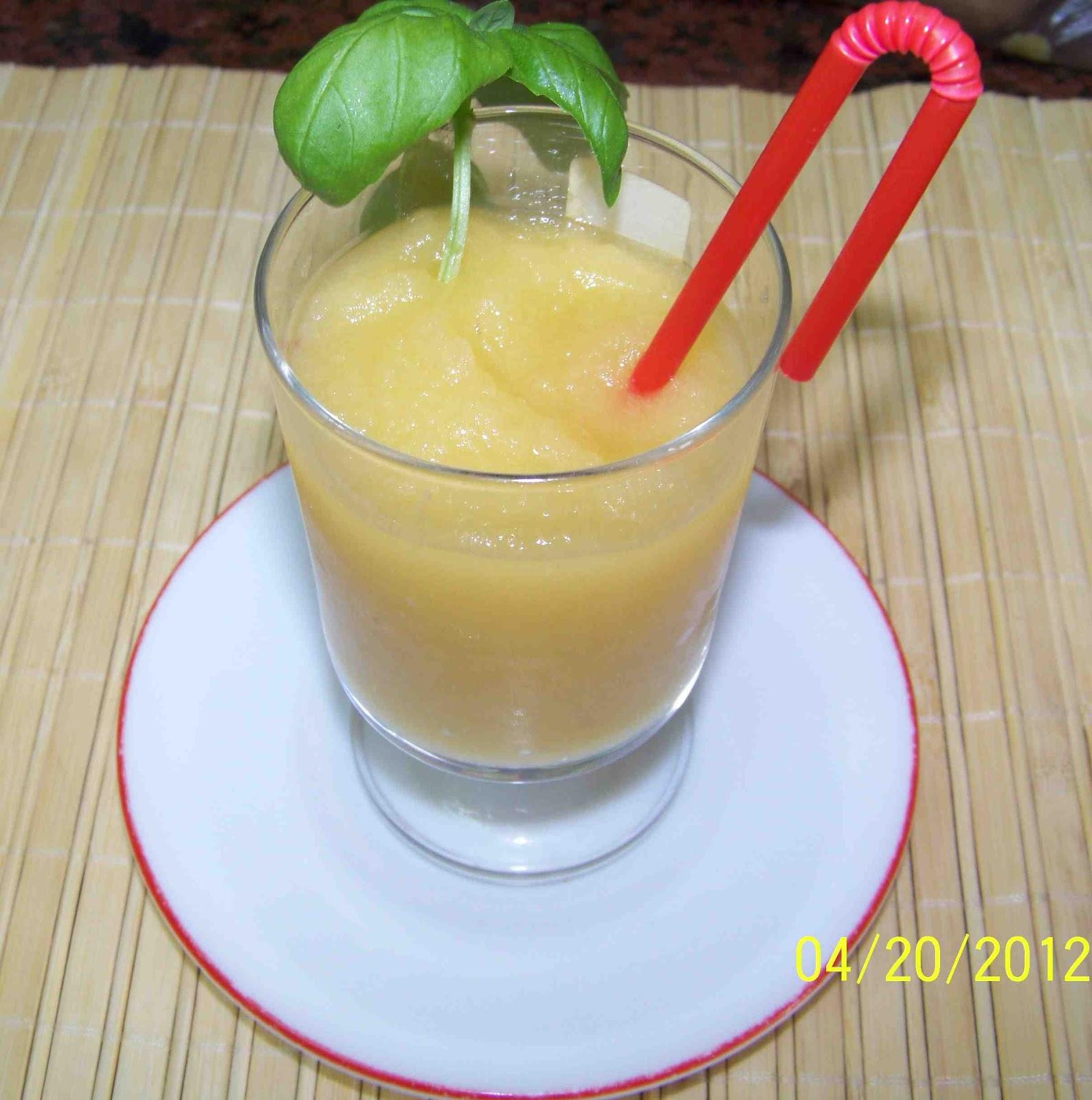 Culinaria y otras cosas sorbete de manzana - Sorbete de manzana verde ...