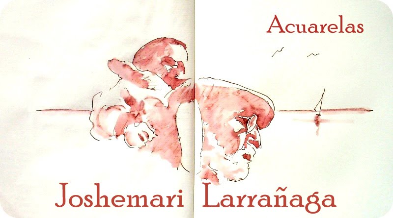 Joshemari Larrañaga ACUARELAS