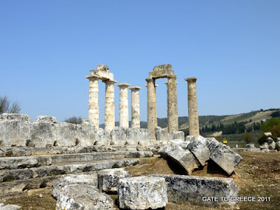 Temple of Zeus in Nemea
