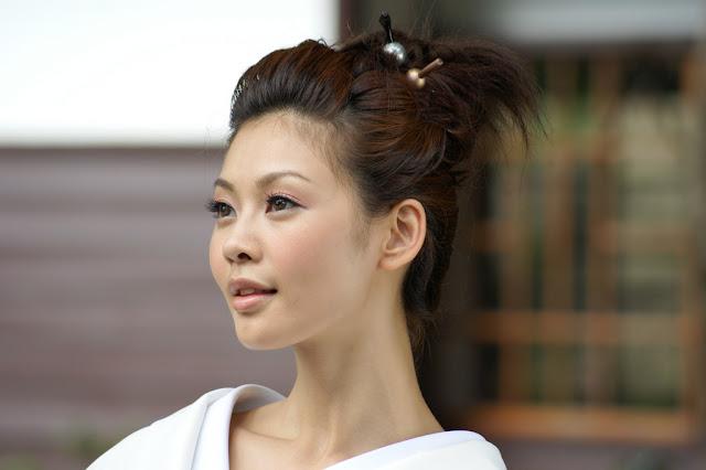 японка - японское лицо, японская красивая девушка