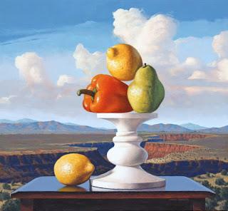 Frutero y Paisajes de la Naturaleza Pintura