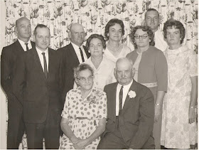 1964 Dorrel and Lizzie Cornum Family