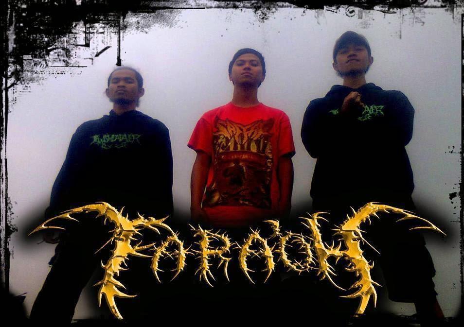 Fara'oh Band Slamming Death Metal Purwakarta foto personil logo artwork wallpaper