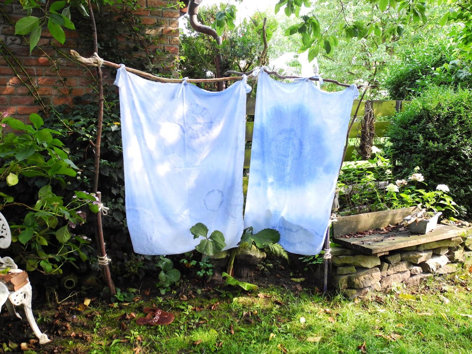 DIY Sichtschutz Outdoor Dusche