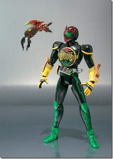 S.H. Figuarts Kamen Rider OOO Ankh Stand Set