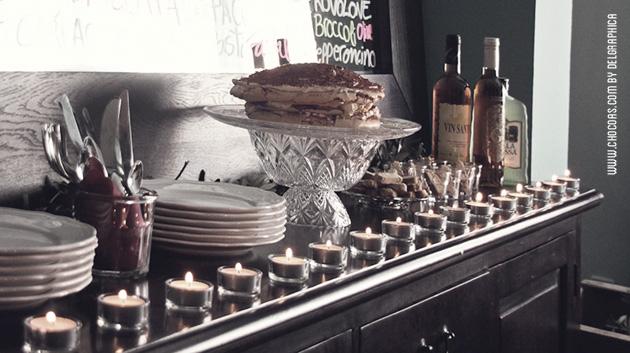 Mesa dulce - fiesta Toscana