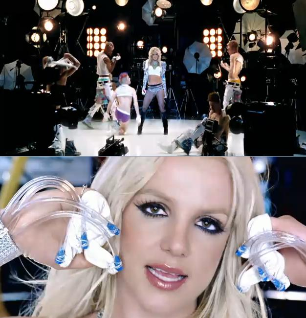 "... of Britney Spears' for her latest single ""Hold It Against Me"