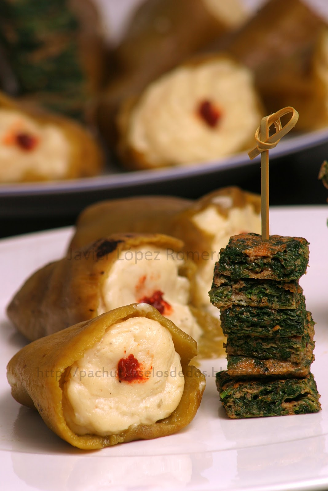 O do cocina pimientos del piquillo rellenos de bacalao - Pimientos rellenos de carne picada y bechamel ...