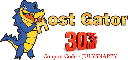 Hostgator 30% Off Coupon Code For July 2013