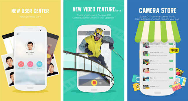 Camera360 para Android