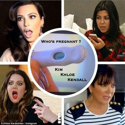 Positive pregnancy test | Who is pregnant: Kim Kardashian or Kendall?