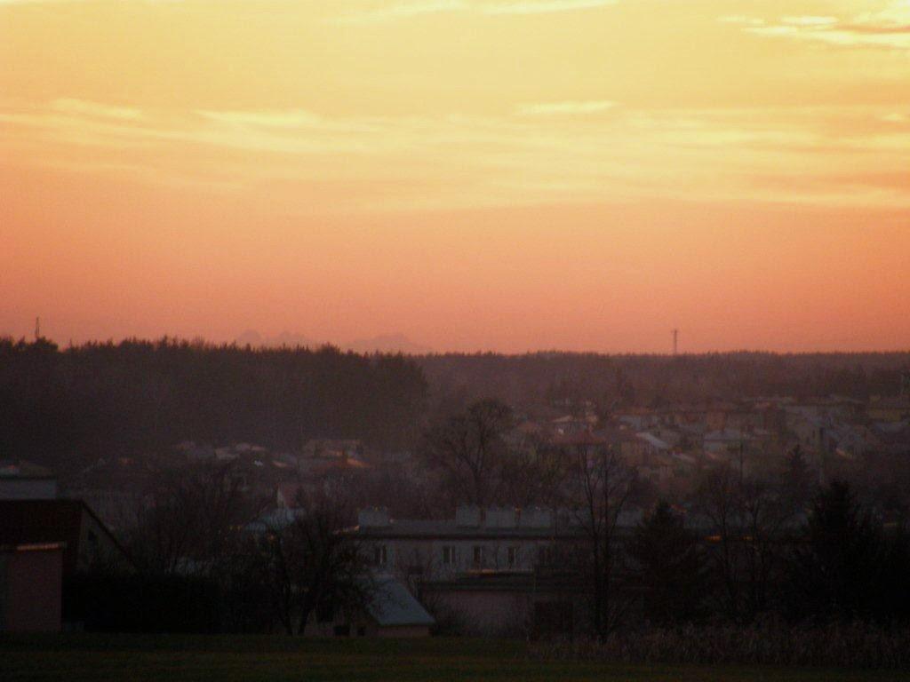 Kolbuszowa, Tatry, widok, dalekie obserwacje, Płaskowyż Kolbuszowski