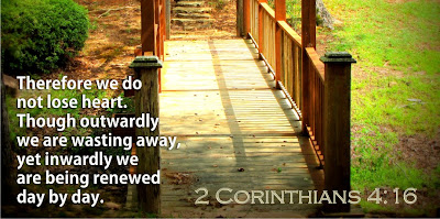 2 corinthians 4:16 christians journey