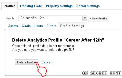Profile+Settings+google+analytics3 How To Delete a Profile/Website From Your Google Analytics Account