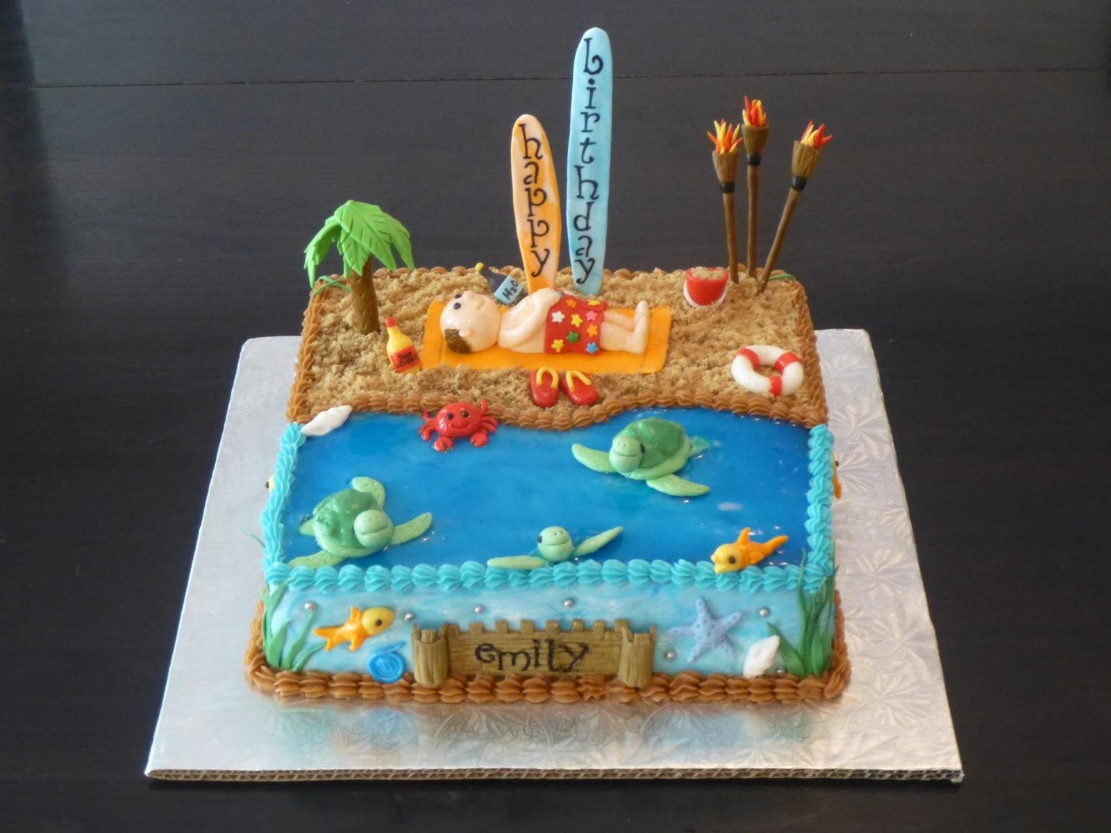 CLASSIC CAKES Emilys Memories Of Maui Birthday Cake - Maui birthday cakes