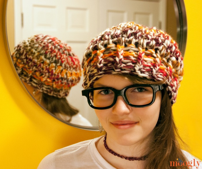 Crochet Hat Pattern Super Bulky Yarn : Fiber Flux: 25 One Evening Crochet Patterns!