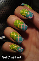 http://gelicnailart.blogspot.se/2013/03/double-gradient-mesh-in-yellow-pink.html