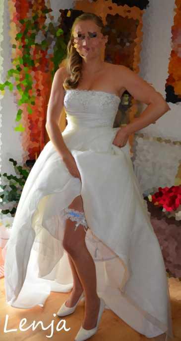 Waldelfentraum: Hochzeitskleid
