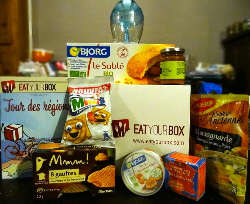 Eat your Box : Novembre (Tour des régions)