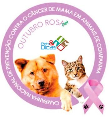 Outubro Rosa para animais de estimação