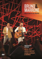 DVD Bruno e Marrone - Pela Porta da Frente