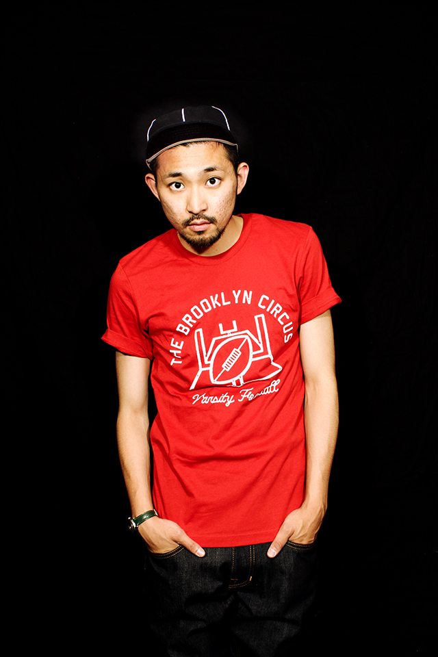 "The Brooklyn Circus ""G Post"" T-shirts size S 7,344yen"