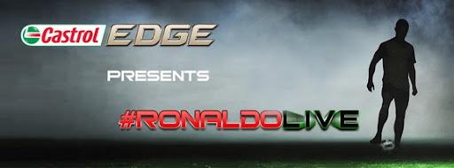 Castrol EDGE and Cristiano Ronaldo present #RonaldoLIVE