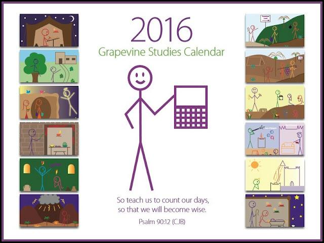 Grapevine studies, calendar, Jesus, Christianity, Biblical History