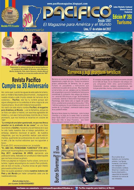 Revista Pacífico Nº 350 Turismo
