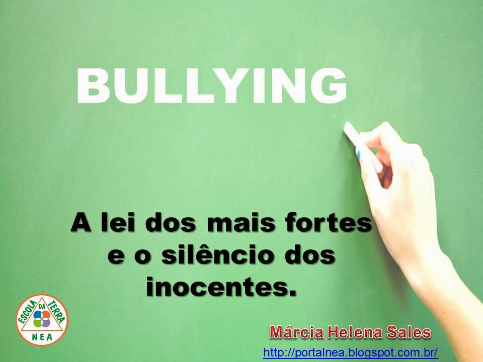 PALESTRA BULLYING NA ESCOLA