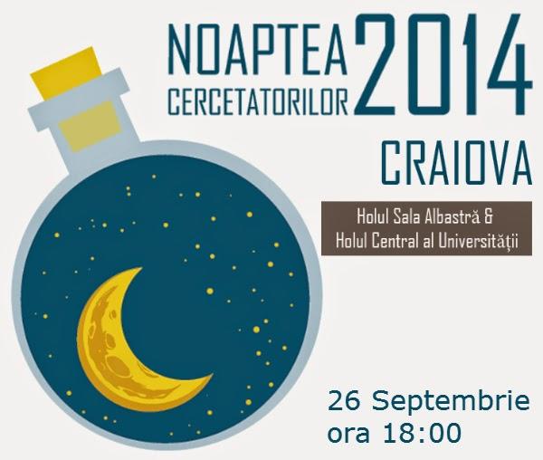 Noaptea Cercetatorilor la Craiova