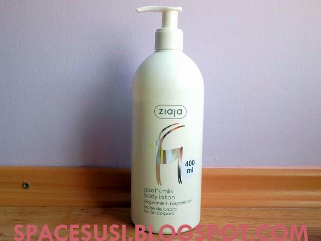 recenze kosmetiky, tělové mléko