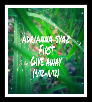 ADRIANNA SYAZ FIRST GIVE AWAY 4 12 11 12