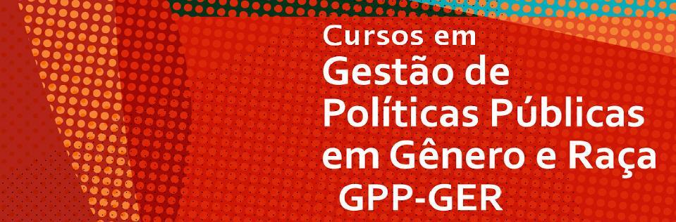 Curso de Formação em Gestão de Políticas Públicas - Gênero e Raça