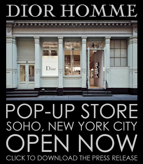 La nueva tienda de Dior Homme en el Soho de Nueva York