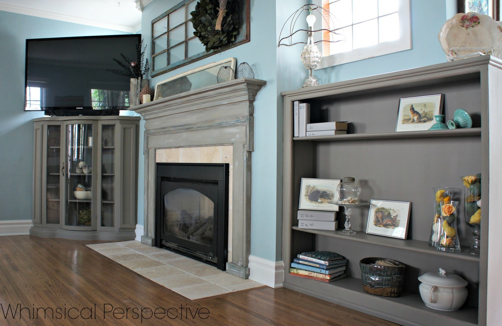 whimsical perspective living room reveal part 2