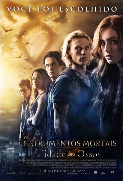 Download - Os Instrumentos Mortais: Cidade dos Ossos - BDRip AVI Dual Áudio + RMVB Dublado ( 2013 )